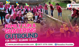 Outbound family ghatering jember